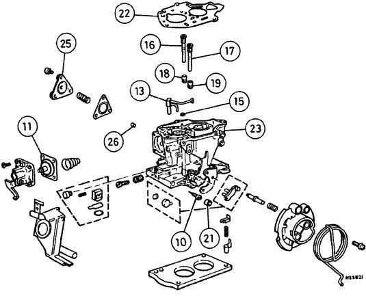 Конструкция карбюратора Solex